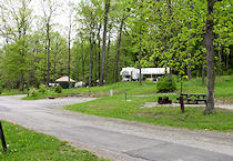 Tent and camper sites
